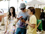 Alex, justin and max tourist