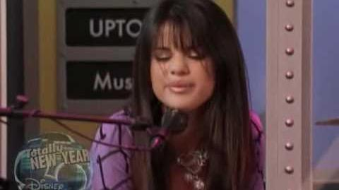 Selena Gomez singing in Wizards of Waverly Place Make It Happen