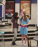 First kiss alex and harper at waverly