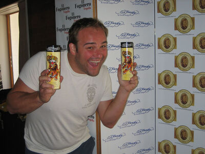 David Deluise (Wizards of Waverly Place) With Ed Hardy Fragrance-1-