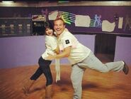 Selena and david behid the scenes alex'sbrother,maximan