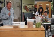 1x12 alex, max and jerry in the kitchen