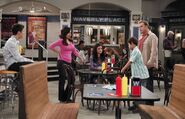 First kiss Family Russo at waverly