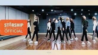 Dance Practice 우주소녀 (WJSN) - La La Love Fixed Cam Ver