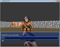 Wolf3DRPGMaker-Ingame