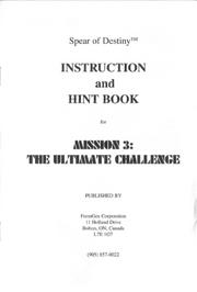 Ultimate Challenge Instruction Booklet
