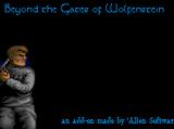 Beyond the Gates of Wolfenstein