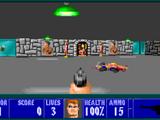 Castle Wolfenstein 3-D New Game Map