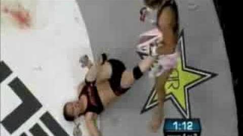 Shayna Baszler vs Cristiane Cyborg - EliteXC
