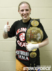 061 Strikeforce Champion Sarah Kaufman