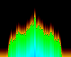 Blazing Colors visualization plug-in for Windows Media Player