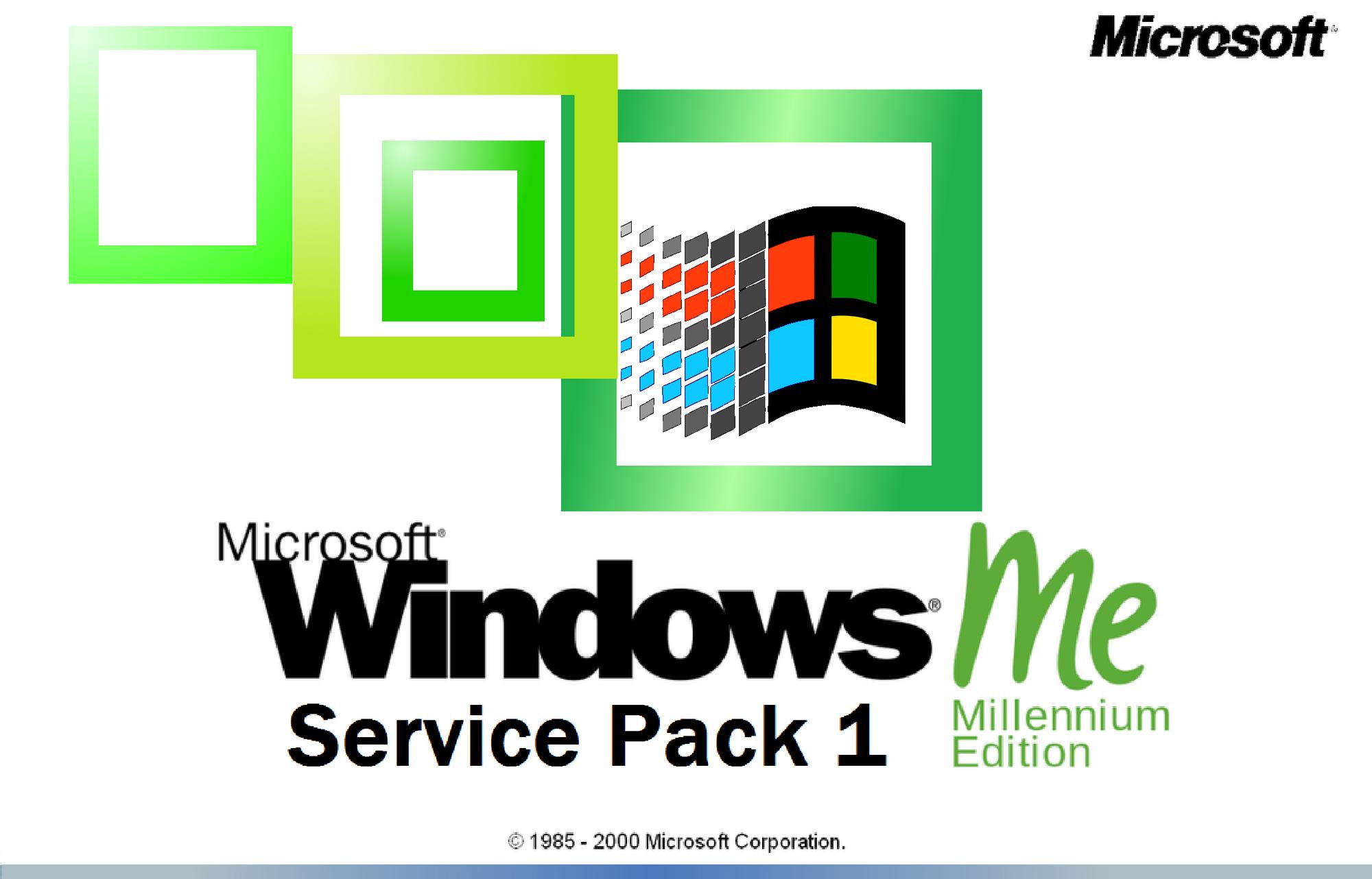 windows me service pack 1