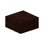 Nether brick slabs