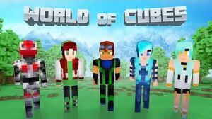 World of Cubes Futuristic Skin Pack Overview