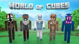 World of Cubes Monster Skin Pack Overview