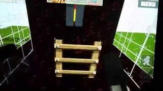 World of cubes minigame! Run from the beast!