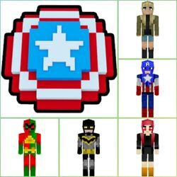 Comics Skin Pack