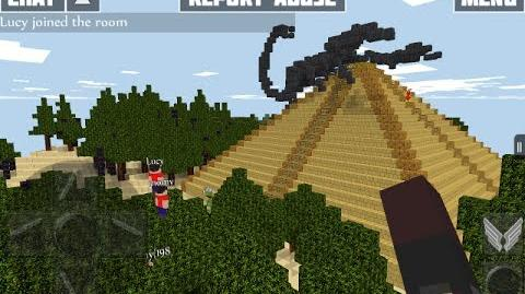 WoC Scorpion Island Map Preview in Multiplayer Creative Mode