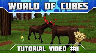 WoC Tutorials How to Tame, Feed, Breed Passive Mobs