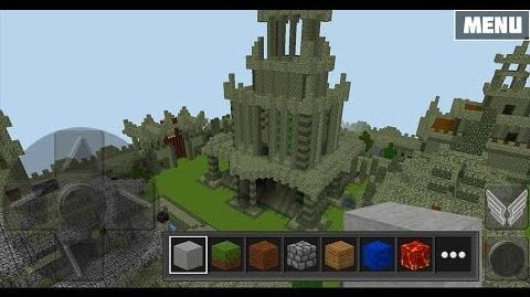 WoC The Old Castle Map Preview in Multiplayer Creative Mode
