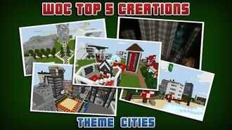 Top 5 World of Cubes Creations - Cities