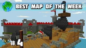 Best Map of the Week 4 - Piratescarribean!