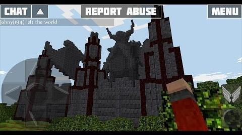 WoC Dwarven City Map Preview in Multiplayer Creative Mode