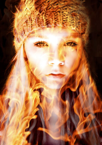 File:Girl on Fire by Mumtazzaidi.jpg
