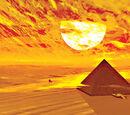 Pyramiden Halluzination