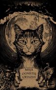 Karta kolekcjonerska przedstawiająca okładkę Misji Ognistej Gwiazdy