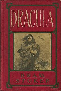 Dracula book cover 1902 doubleday 89