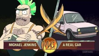 Rick and Morty - Man vs Car