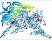 The-mystic-blue-wolf
