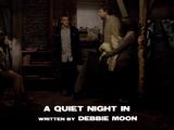 A Quiet Night In