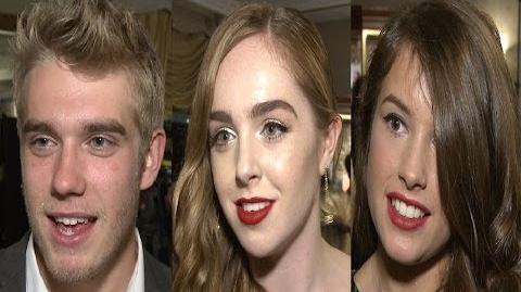 Wolfblood Cast Interviews - Season 3 & BAFTA Children's Awards-0
