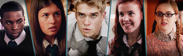 Wolfblood cast