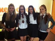 Ana, Klariza, Tasie, and Louisa