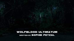 Wolfblood Ultimatum