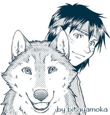 Torak and wolf