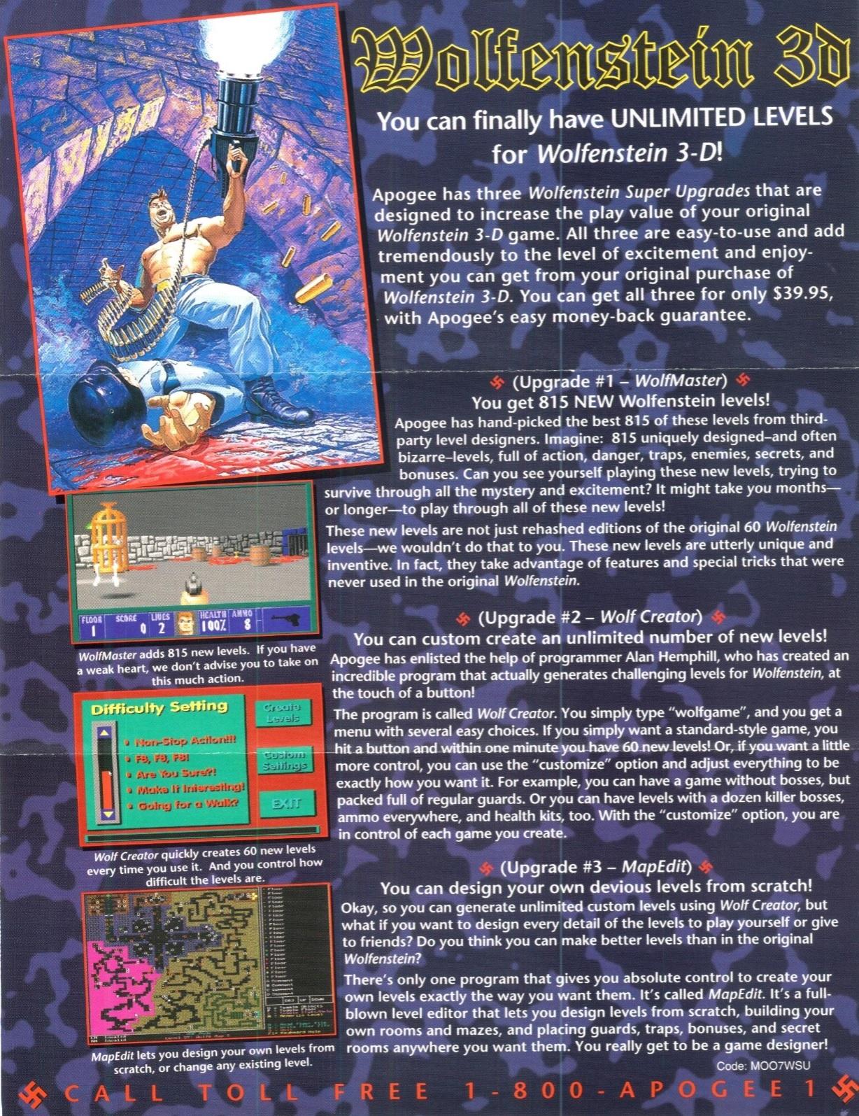 Wolfenstein 3D Super Upgrades Wolfenstein Wiki