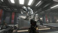 Panzerhund-Statue