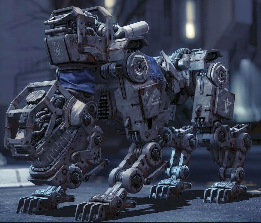Wolfenstein Kill Big Robot Dog