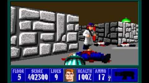 Wolfenstein 3D (id Software) (1992) Episode 5 - Trail of the Madman - Floor 5 HD