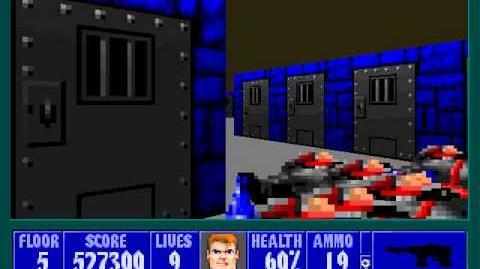 Spear Of Destiny 2 - Return To Danger - Floor 6 (Submarine Pen Boss - Trans Grosse)