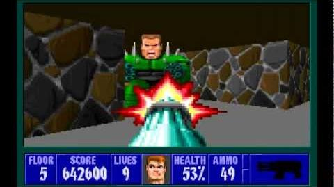 Spear of Destiny (id Software) (1992) Floor 5 - Boss Trans Grosse HD