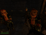 RTCW - Wounded Elite Guards in Castle Wolfenstein