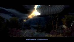Zeppelin crashes