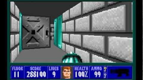 Spear of Destiny (id Software) (1992) Floor 11 HD