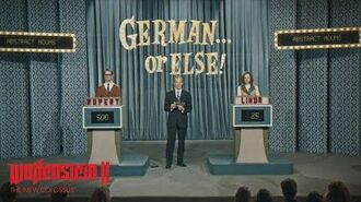 Wolfenstein II The New Colossus – German or Else!