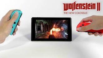 Wolfenstein II – Nintendo Switch Launch Trailer